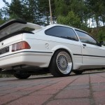 Ford Sierra RS500 cosworth white immaculate low rear tail underside stainless exhaust