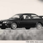 Ford Sierra RS500 original poster