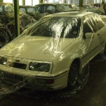Ford Sierra RS500 storage cover