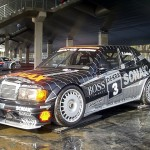 Mercedes C Class AMG Touring Car front side sonax