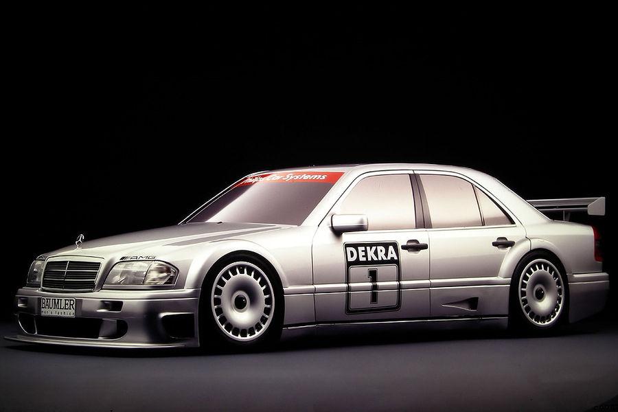 Mercedes c class amg touring car studio 900 600 for Mercedes benz touring car