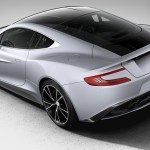 Aston Martin Vanquish Centenary Edition Sterling Silver Rear