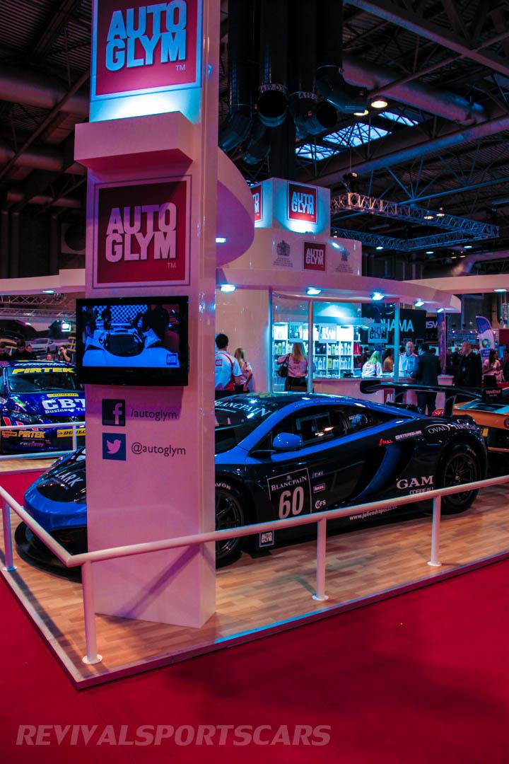 Autosport International AutoGlym Stand
