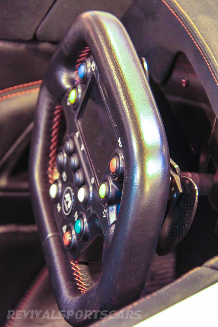 Autosport International BAC Mono steering wheel