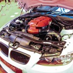 Autosport International BMW E90 M3 supercharged engine detail full