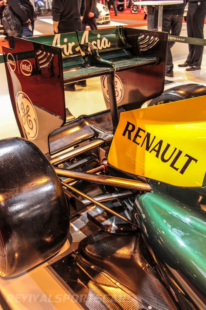 Autosport International Caterham F1 Car
