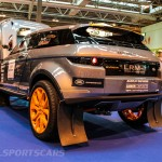 Autosport International Evoque racer rear