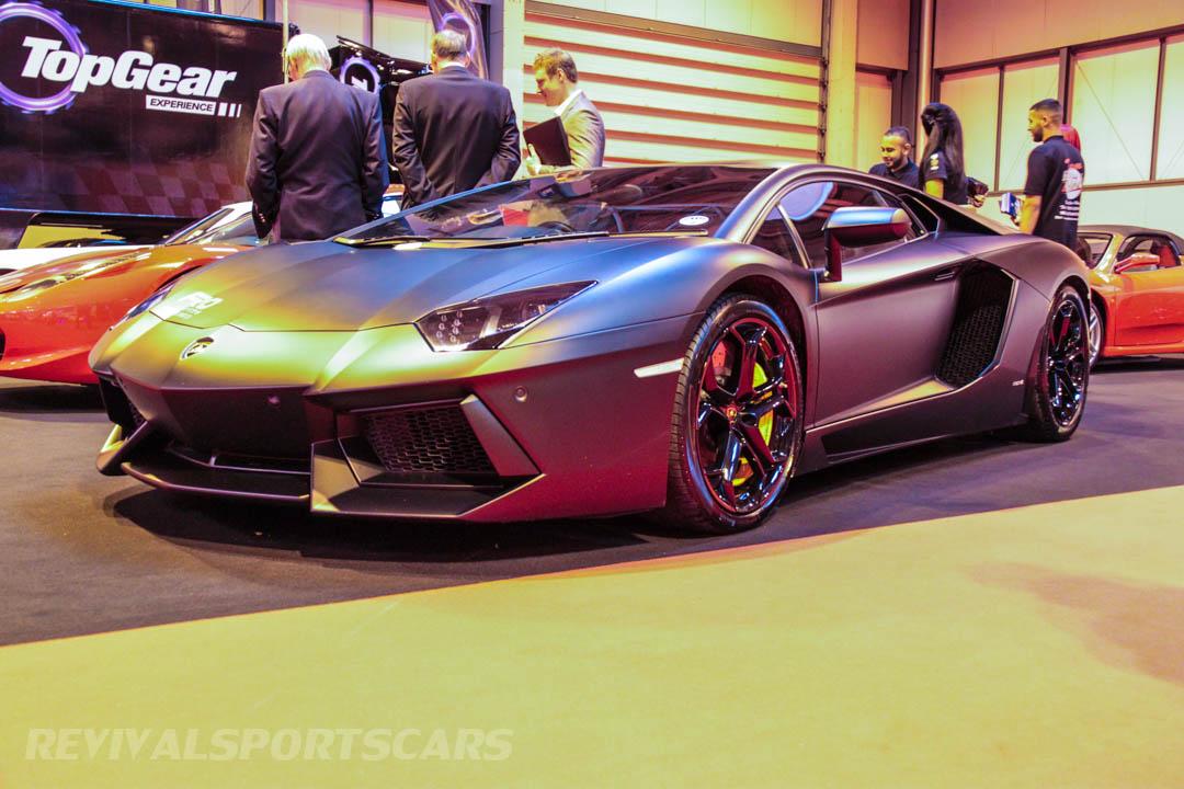 Autosport International Lamborghini Aventador Matt Black