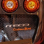 Autosport International Lamborghini Noble M600 CarbonSport rear light detail