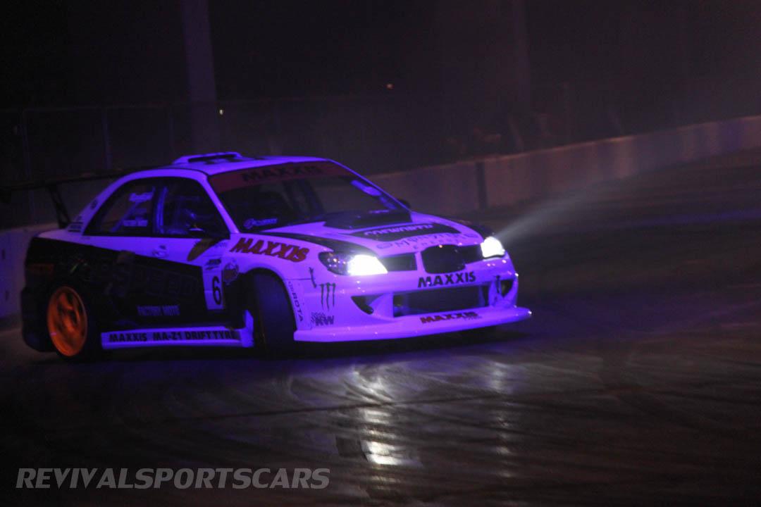 Autosport International Live Action Arena Team Japspeed Drift Show Subaru Impreza 1JZ front