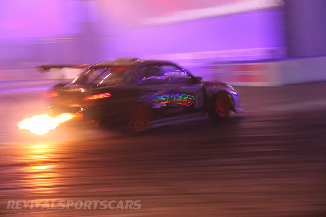 Autosport International Live Action Arena Team Japspeed Drift Show Subaru Impreza 1JZ side
