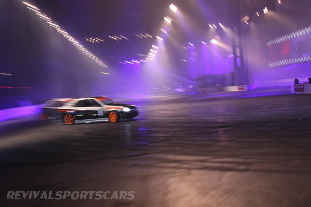 Autosport International Live Action Arena Team Japspeed Drift Show Subaru Impreza 1JZ