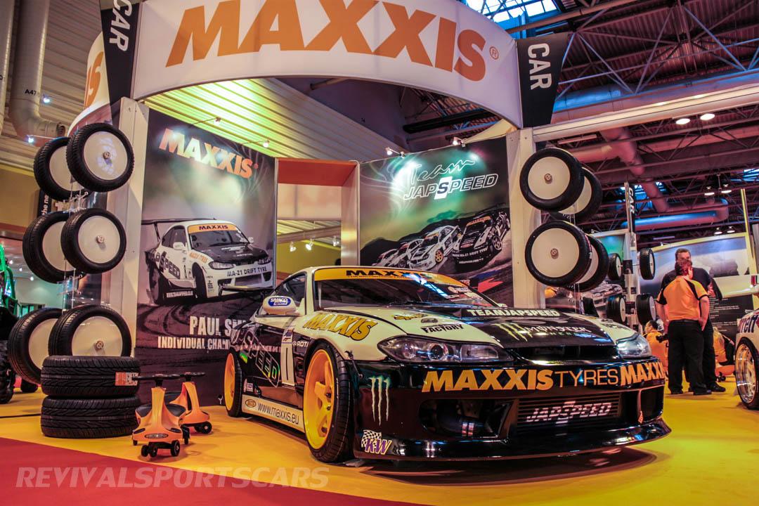 Autosport International Maxxis Drift Stand Nissan Silvia