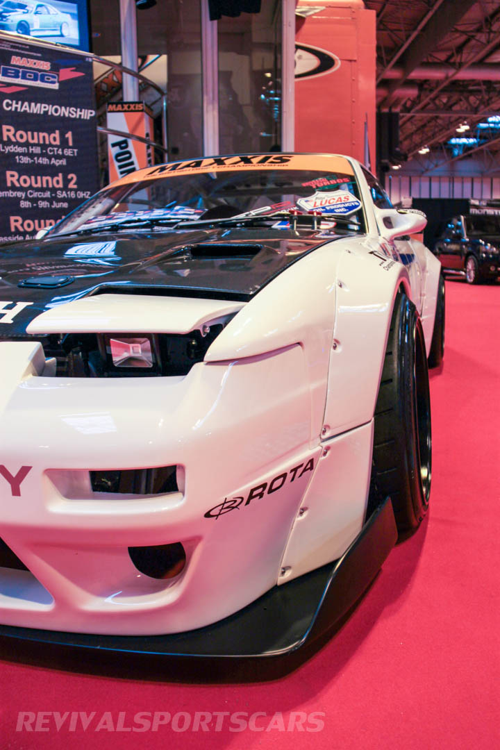Autosport International Maxxis Drifting Nissan Silvia