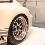 Autosport International Porsche 911 RS racing car rear wheel BBS