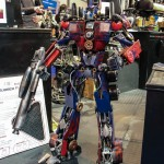 Autosport International Transformers Optimus Prime
