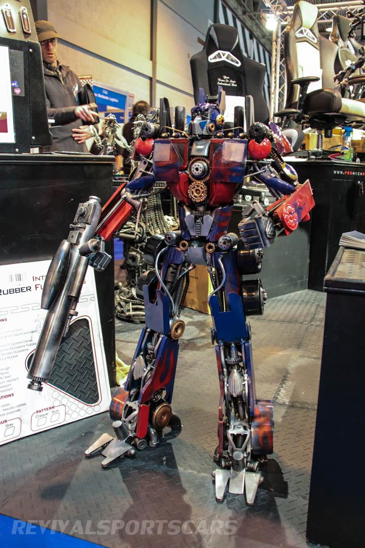 Autosport International Transformers Optimus Prime