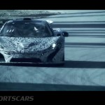 McLaren P1 Nurburgring Testing High Resolution Front on track mid testing