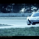McLaren P1 Nurburgring Testing High Resolution Front on track mid testing heat and aero effect
