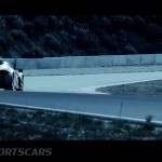 McLaren P1 Nurburgring Testing High Resolution Rear Angle low view from distance
