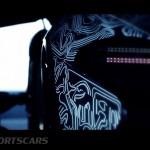 McLaren P1 Nurburgring Testing High Resolution Rear Light detail low with car profile
