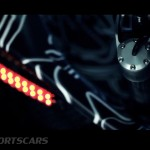 McLaren P1 Nurburgring Testing High Resolution rear wing mechanism detail top