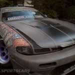 Military Spec Nissan Silvia S14 6666 Customs Stance Nation Front bonnet
