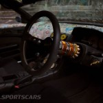 Military Spec Nissan Silvia S14 6666 Customs Stance Nation Interior detail metal steering column