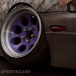 Military Spec Nissan Silvia S14 6666 Customs Stance Nation front wheel camber angle detail alternate