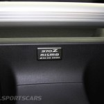 Nissan 370Z Nismo UK European Edition interior new plaque rear boot