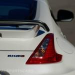Nissan 370Z Nismo UK European Edition rear white detail spoiler