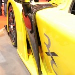 Radical RXC launch Autosport 2013 carbon side wing mirror