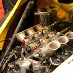 Radical RXC launch Autosport 2013 engine closeup throttle bodies