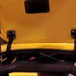 Radical RXC launch Autosport 2013 gull wing door hinge detail