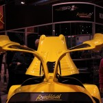 Radical RXC launch Autosport 2013 gull wing front view profile shot