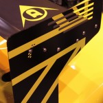Radical RXC launch Autosport 2013 rear wing end piece