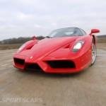 Ferrari Enzo WRC hooning front bonnet as drifting