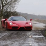 Ferrari Enzo WRC hooning rally off road extreme front drifting