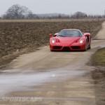 Ferrari Enzo WRC hooning rally off road extreme front farm track