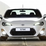 Toyota GT86 TRD upgrades UK 2013 front detail