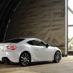 Toyota GT86 TRD upgrades UK 2013 rear side detail