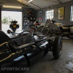 Unit 56 Cooper T51 Climax and bikes lined up