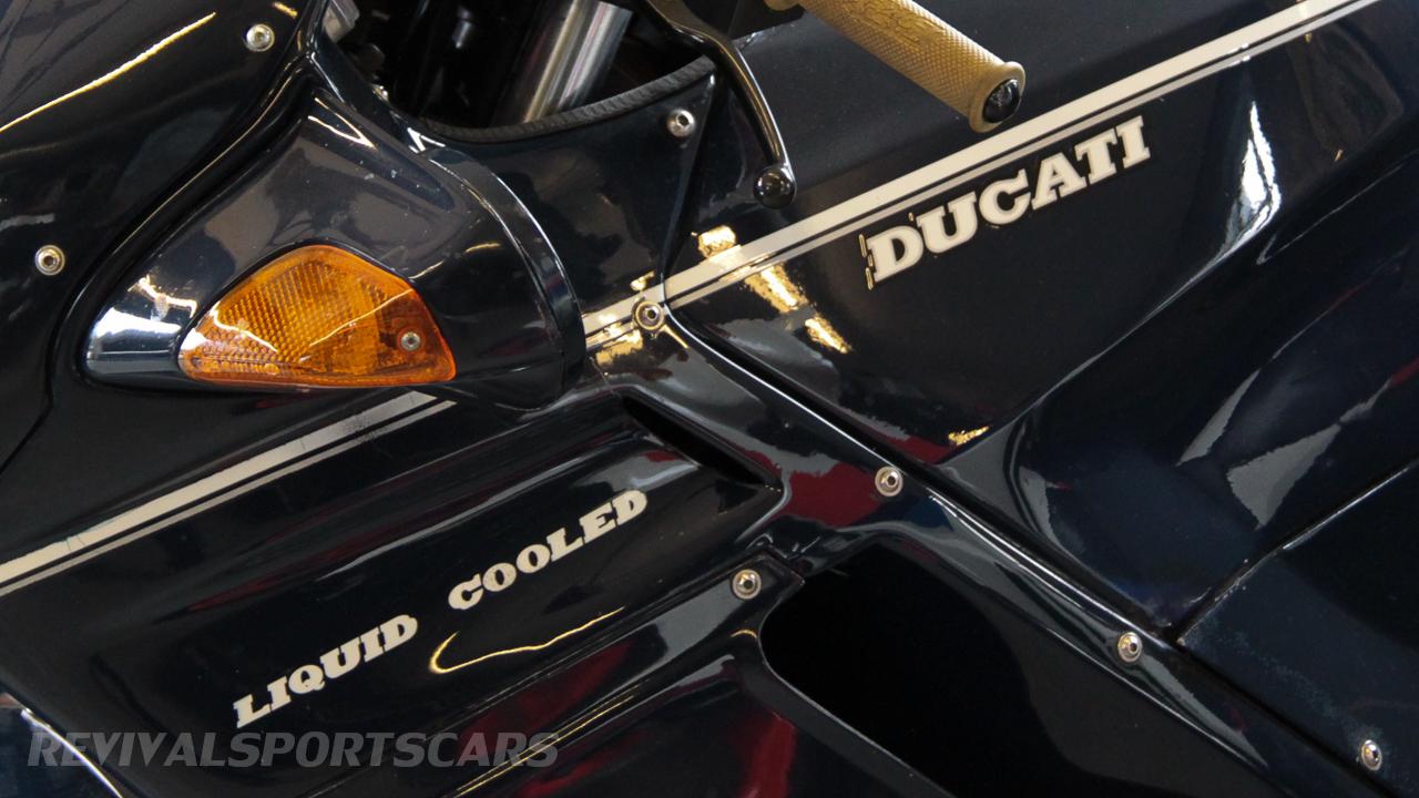 Unit 56 Ducati decal closeup