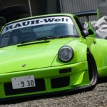 RWB Porsche 911 Rauh-Welt Begriff 964 lime green front
