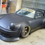 RWB Porsche 911 Rauh-Welt Begriff 964 low matte black covered lights