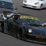 RWB Porsche 911 Rauh-Welt Begriff 964 on race track