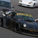 RWB Porsche 911 Rauh-Welt Begriff 964 on race track