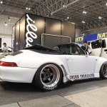 RWB Porsche 911 Rauh-Welt Begriff 993 convertible in white spearmint rhino
