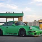 RWB Porsche 911 Rauh-Welt Begriff Green 964 Low front