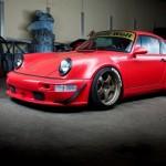 RWB Porsche 911 Rauh-Welt Begriff Red high detail front view